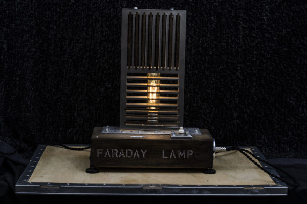 FARADAY LAMP ART BY CHEM 3