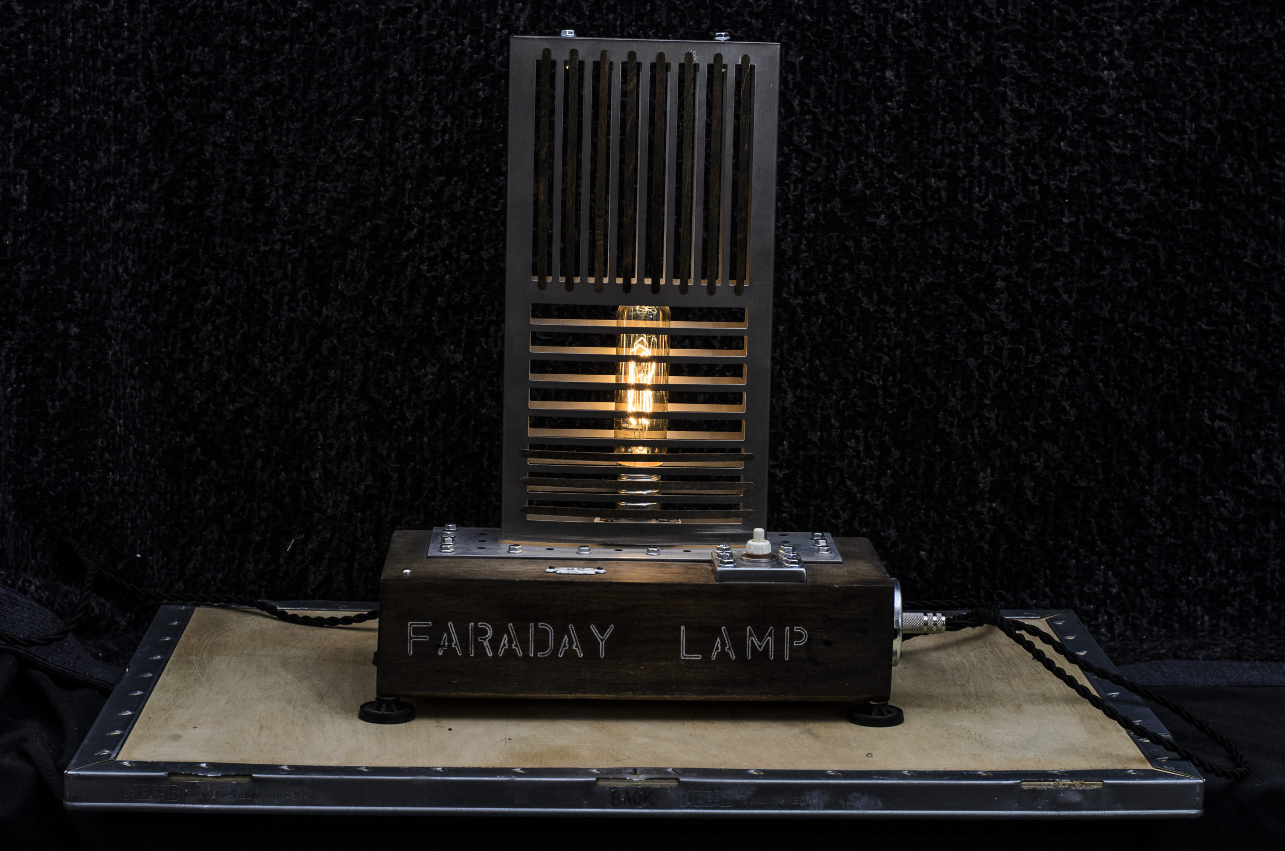 FARADAY LAMP ART BY CHEM 3