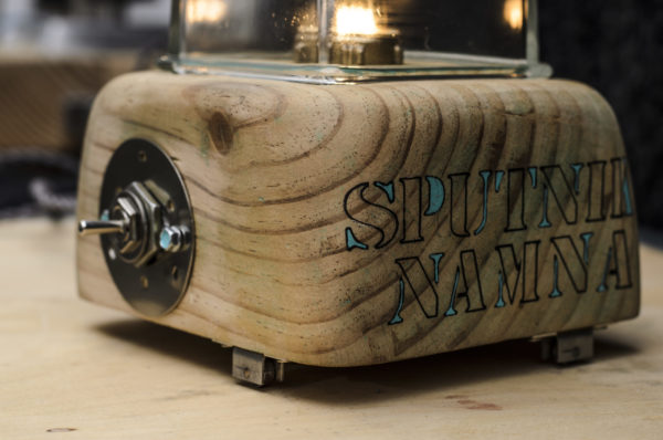 SPUTNIK LAMP ART BY CHEM
