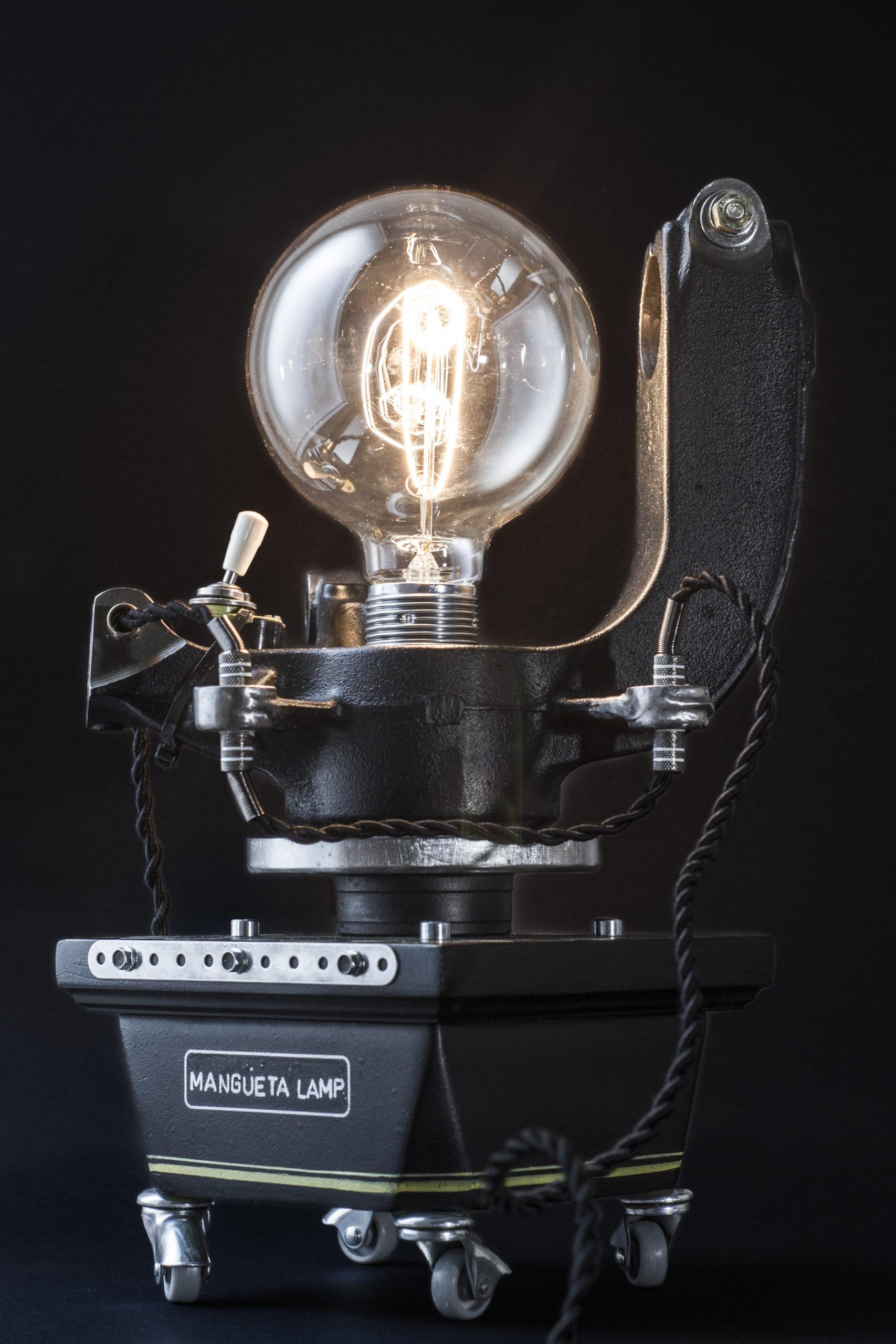 mangueta lamp art by chem